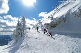 Gemeindealpe Skifahrer