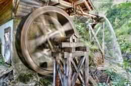 Ötschergräben Wasserrad