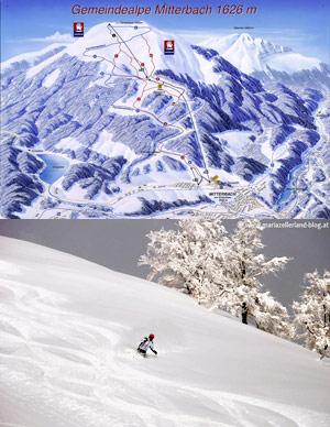Skisnowboard Mitterbach