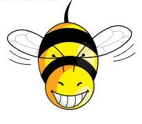 Biene lacht_1