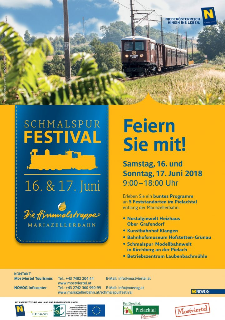 NÖVOG Schmalspurfestival 2018