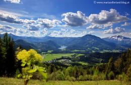 Blick-Erlaufsee-Gemeindealpe-Ötscher